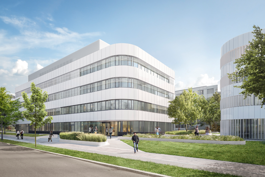 New research building: Topping at the Institute of Chemical Epigenetics