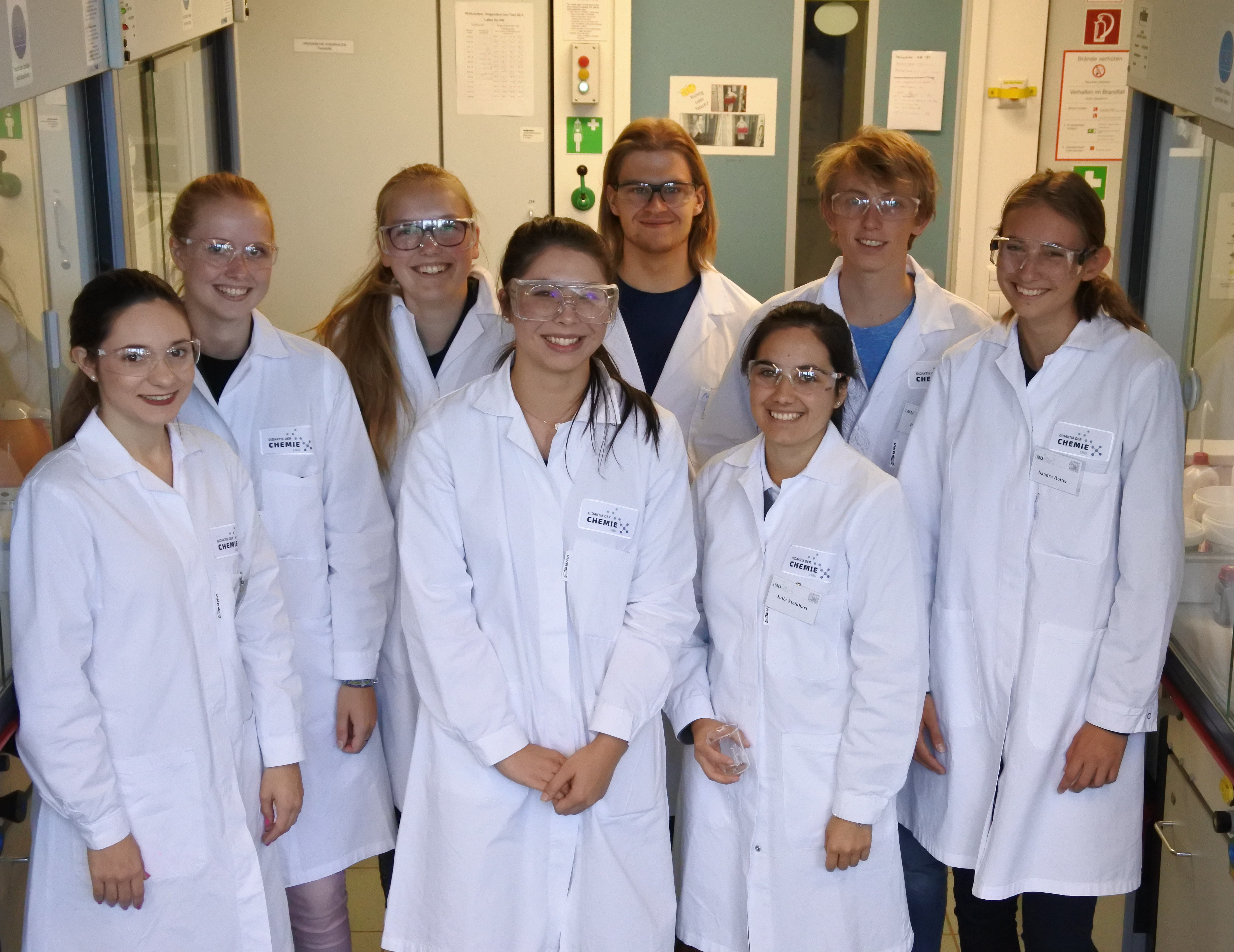Theoretical and practical preliminary course for chemistry teacher's students